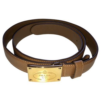 Prada Cintura in pelle saffiano