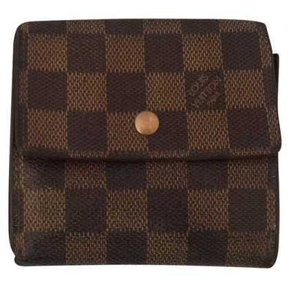 "Louis Vuitton ""Portemonnaie Damier Ebene Canvas"""
