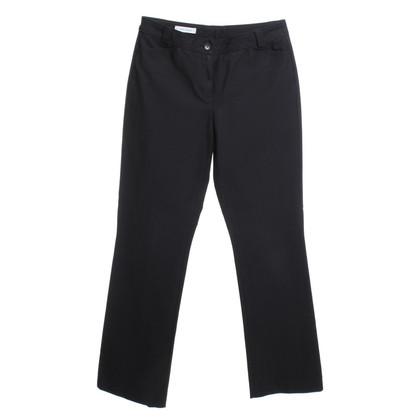 René Lezard Pantaloni in Black
