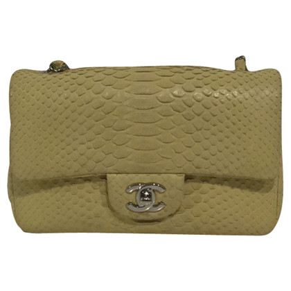 "Chanel ""Classic Flap Bag New Mini"" made of python leather"