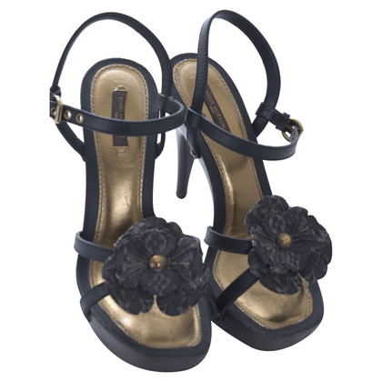 Louis Vuitton platform Sandals