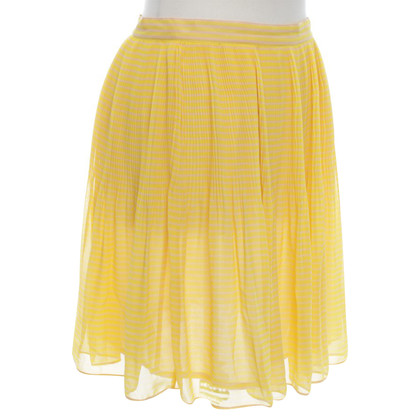 French Connection skirt in yellow