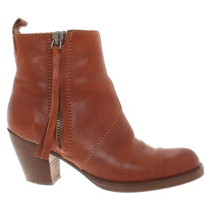 Acne Ankle boots in brown