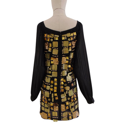 Emilio Pucci Black silk dress