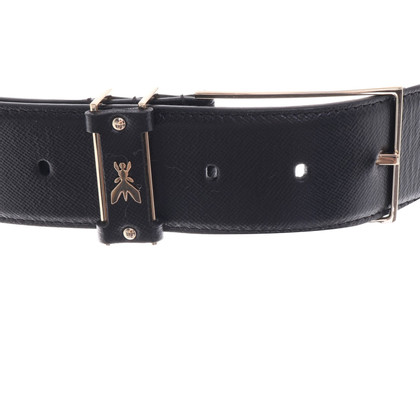 Patrizia Pepe Leather belt in black