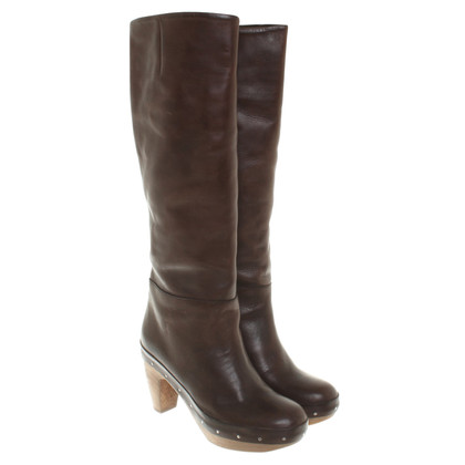 Marni Boots in brown