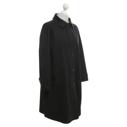 Aquascutum Reversible coat in black / grey