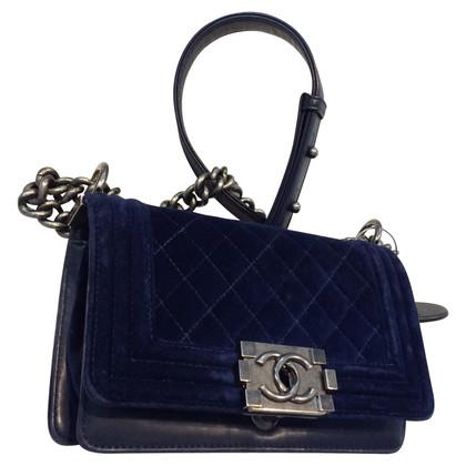 """Chanel """"Boy Bag"""" Velvet"""