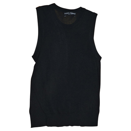 Dolce & Gabbana black vest
