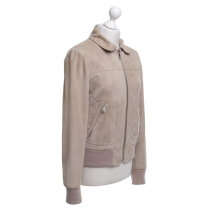 Dolce & Gabbana Leather jacket in beige