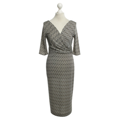 Diane von Furstenberg Gemustertes Kleid aus Seide