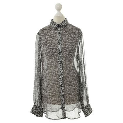 D&G Blouse in black and white