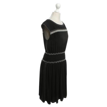Prada Dress in black / white