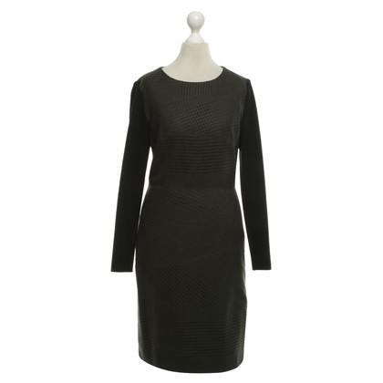 Hugo Boss Dress in dark gray / black