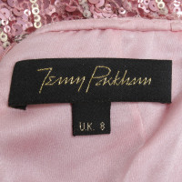 Jenny Packham Sequin dress in pink
