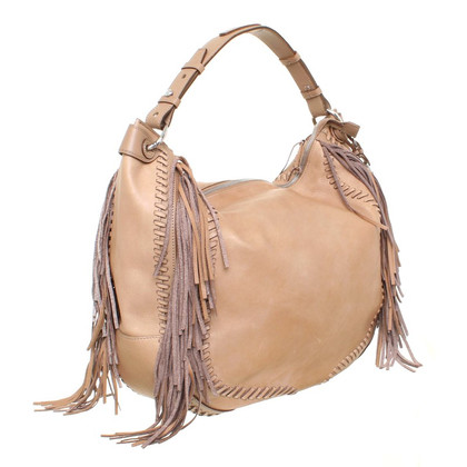 Ralph Lauren Shopper leather fringed