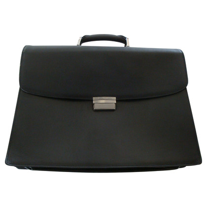 Fratelli Rossetti Black leather Briefcase