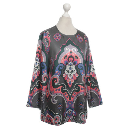 See by Chloé Silk blouse with print