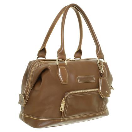 Longchamp Tote in marrone