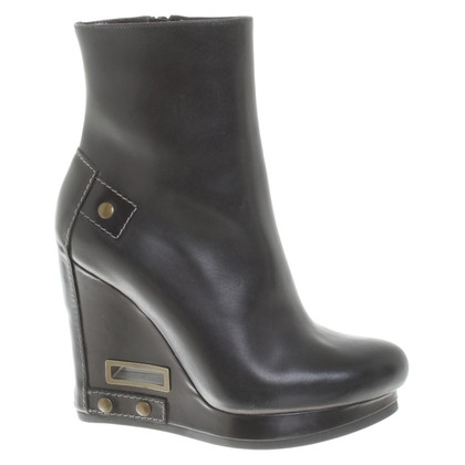 Jil Sander Boots in zwart
