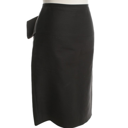 Stella McCartney Straight line skirt in black