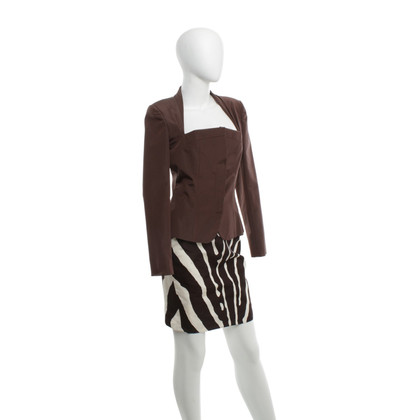 Christian Dior Costume in brown