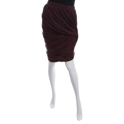 Lanvin Balloon skirt in Bordeaux
