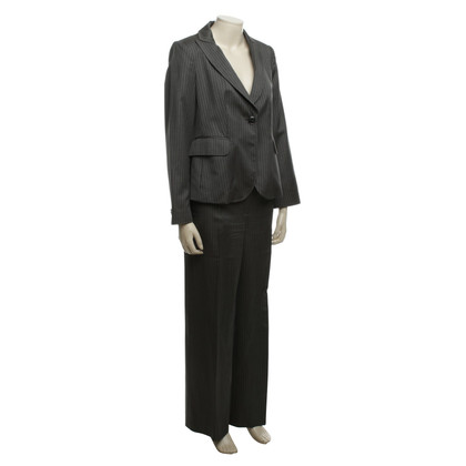 Armani Collezioni Trouser suit with pinstripes
