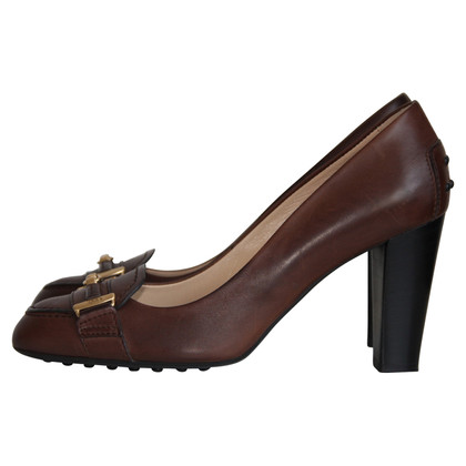 Tod's Brown leather pumps