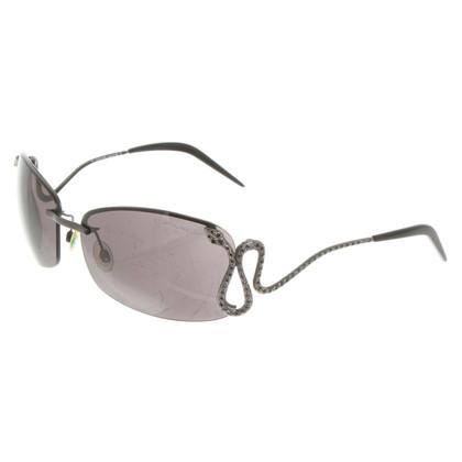 Roberto Cavalli Sonnenbrille in Schwarz