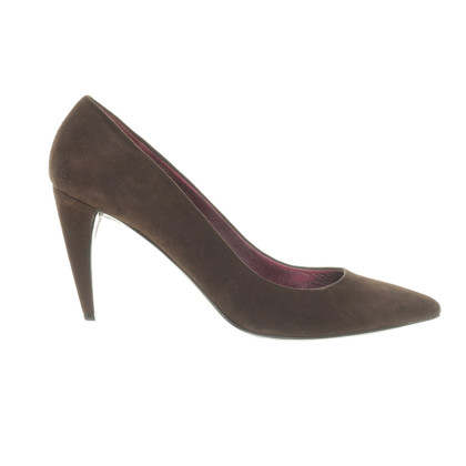 Miu Miu Brown suede pumps