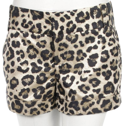 Alice + Olivia Shorts with Animal-Print