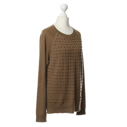 Coast Weber Ahaus Sun jewel embellished sweater