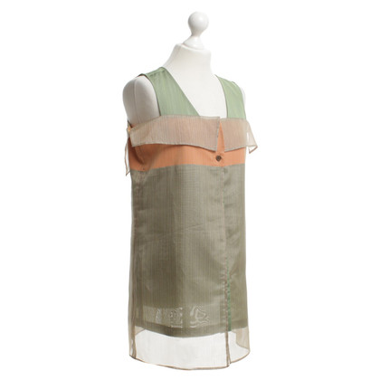 Issey Miyake Top en couches