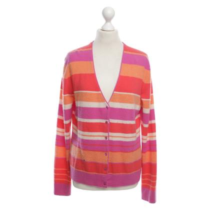 Altre marche Rena Marx - a righe giacca di cashmere