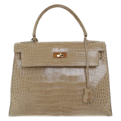 "Hermès ""Kelly Bag 28"" made of crocodile leather"