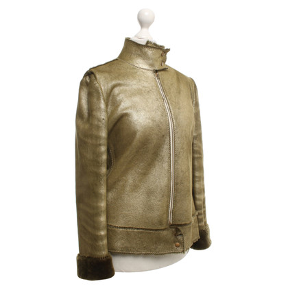 Emanuel Ungaro Jacket made of leather
