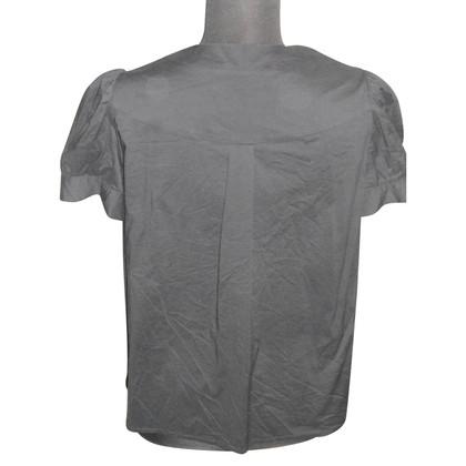 Tara Jarmon Short-sleeved blouse in black