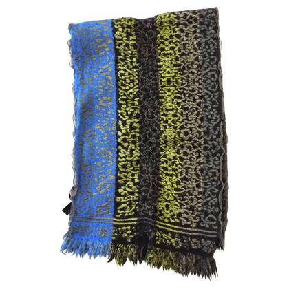 Kenzo  Schal aus Wolle und Seide