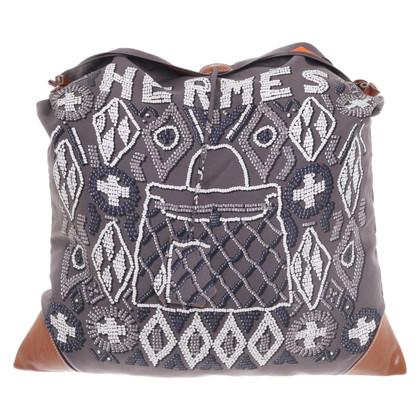 """Hermès """"Silky City Bag"""" met motiefdruk"""