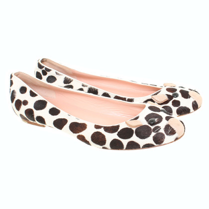 Marc Jacobs Ballerinas with mouse-face motif