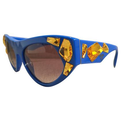 Prada Turquoise zonnebril