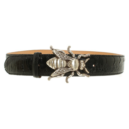 Reptile's House Belt made of reptile leather