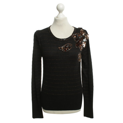 Marc by Marc Jacobs Strickpullover mit Pailletten-Stickerei
