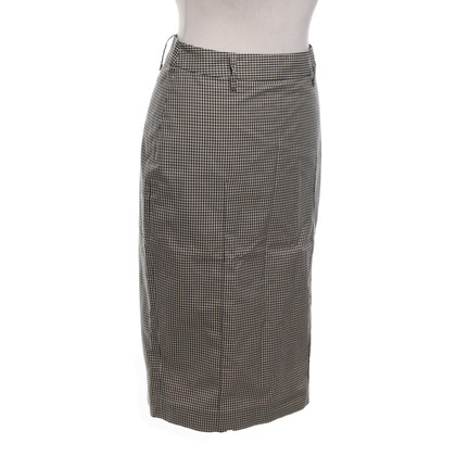 Paul Smith skirt with checked pattern