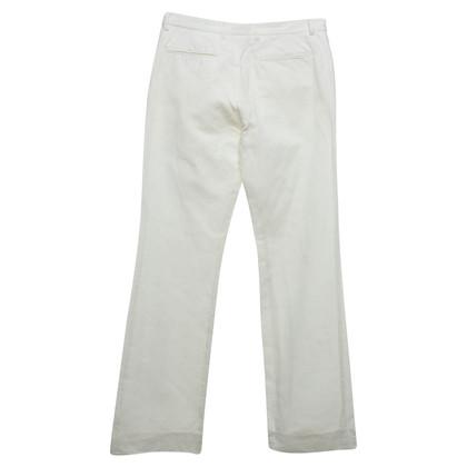 Joseph Pantaloni in bianco crema