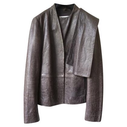 Maison Martin Margiela Brown Leather Jacket