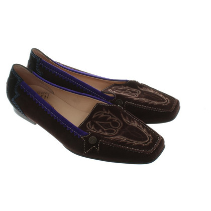 Tod's Wild leather loafers in brown
