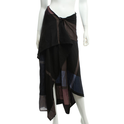 Issey Miyake Trousers skirt with check pattern