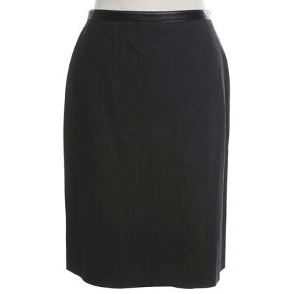 Blumarine skirt in dark gray